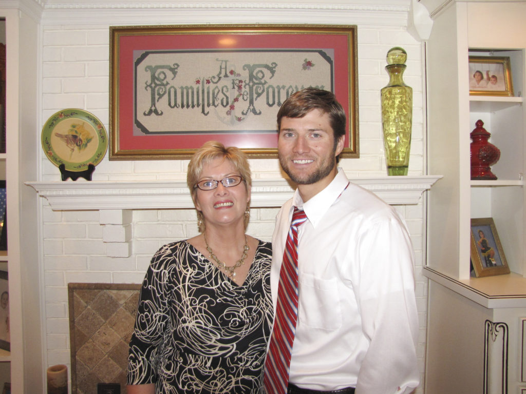 Mark Forester and mom 2010
